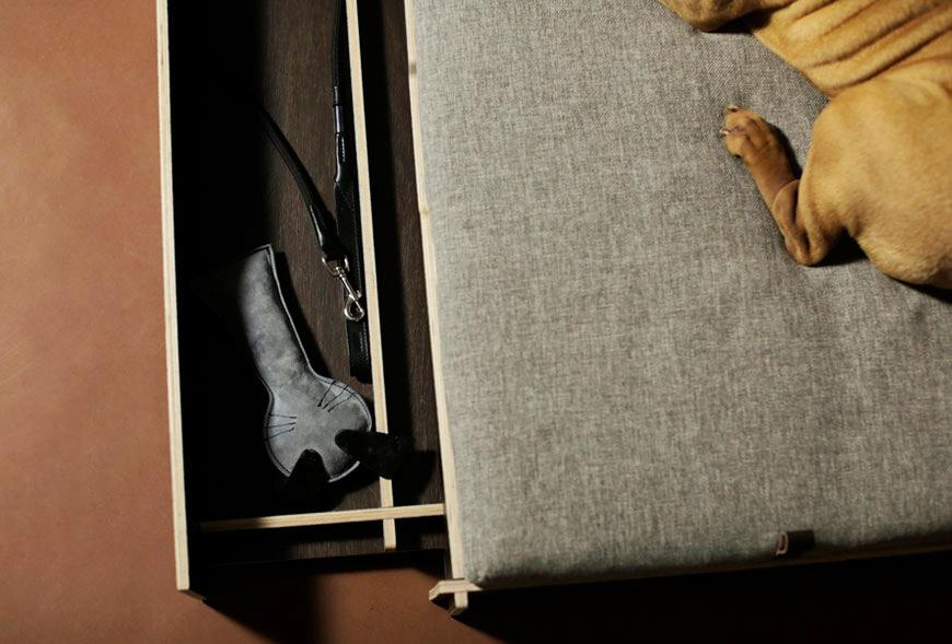 Cajón de la cama Odin de Hanniko