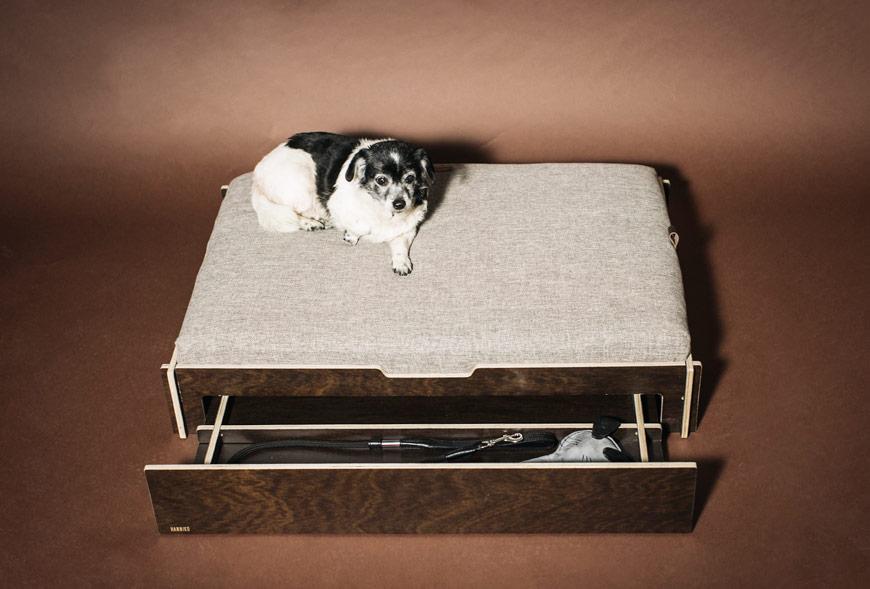 Cama Odin de HANNIKO para perros pequeños y grandes