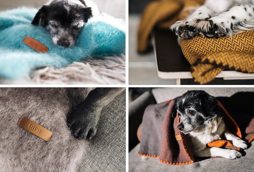 Mantas para perros de HANNIKO